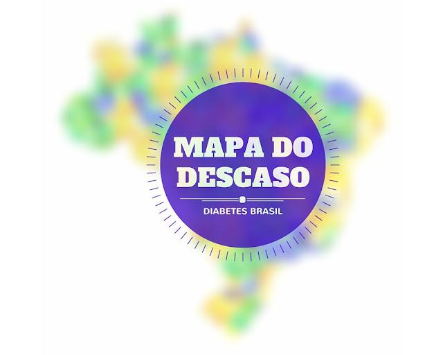 mapa, descaso, diabetes, brasil