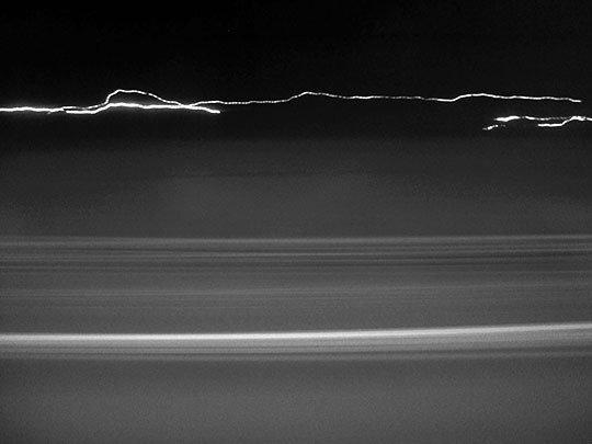 contemporary, photography, art, black and white, blurred, moving car, Sam Freek,