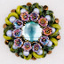 Czech Beads Galore for this Detailed Floral Beaded Cabochon Tutorial