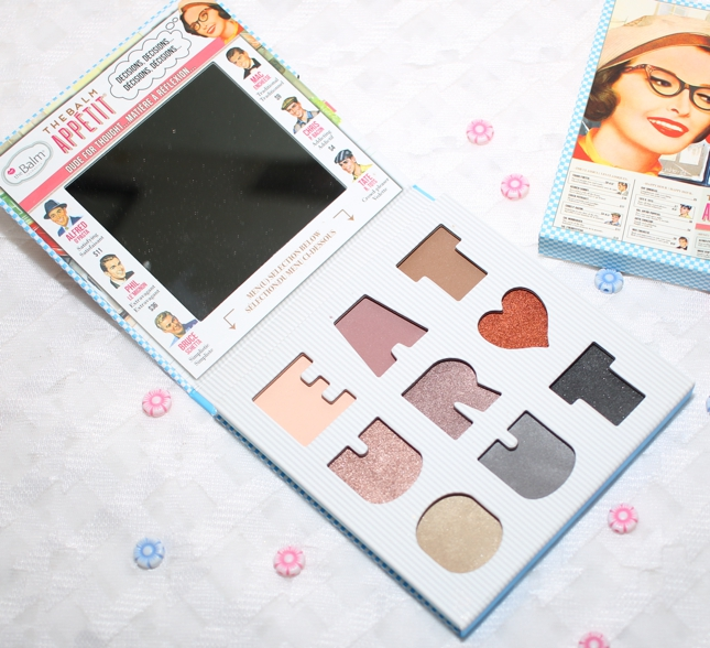 Review, swatches - and EOTDs - of TheBalm Appetit Eyeshadow Palette, a mauve-neutral fun makeup palette.