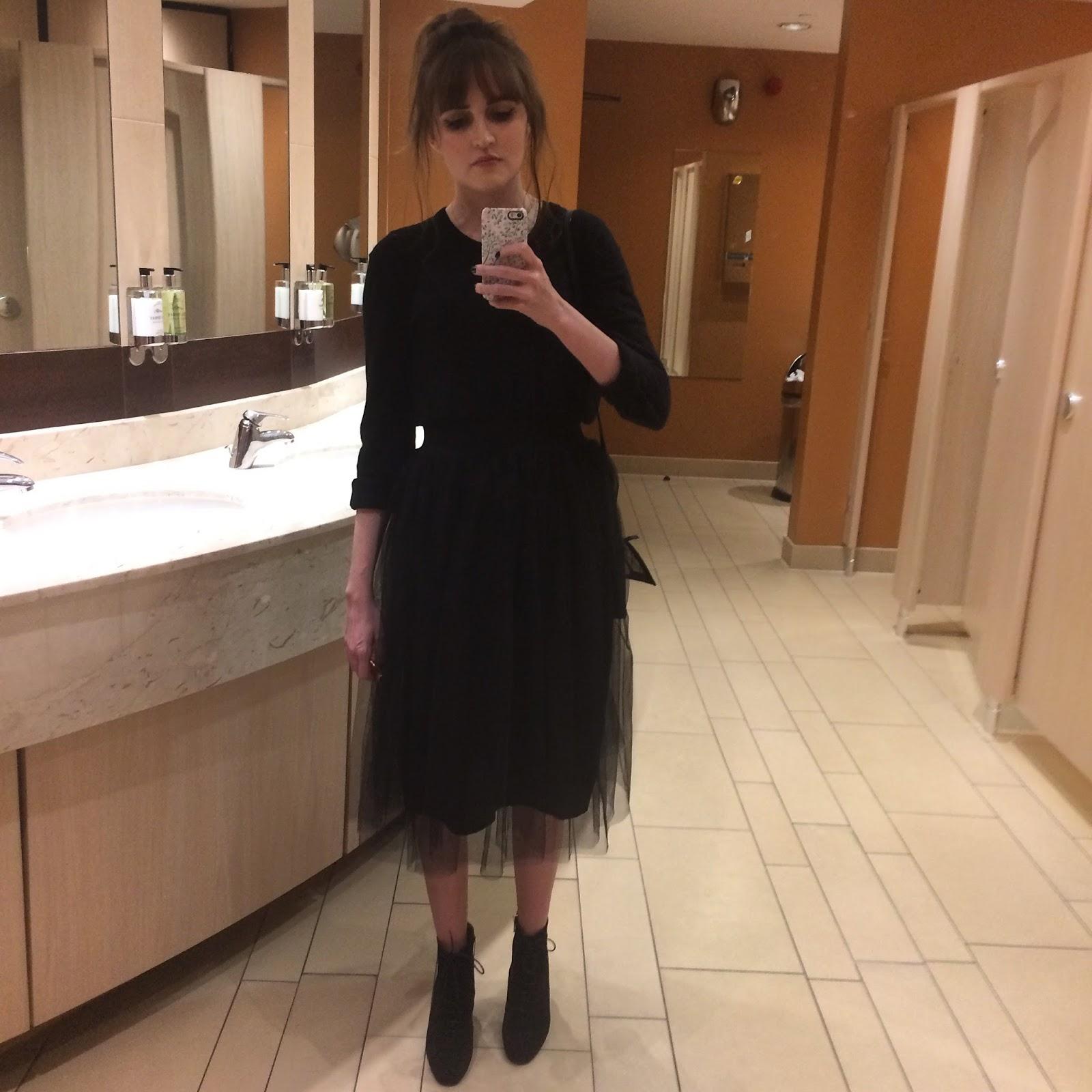 how to wear a midi skirt, new look tulle midi skirt