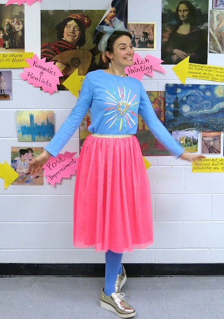 Cassie Stephens: art teacher clothes