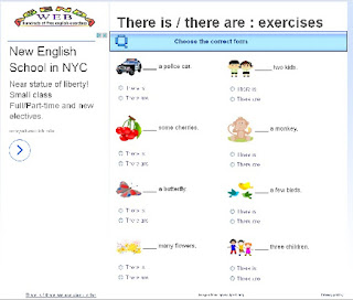 there is there are there was there were exercises pdf