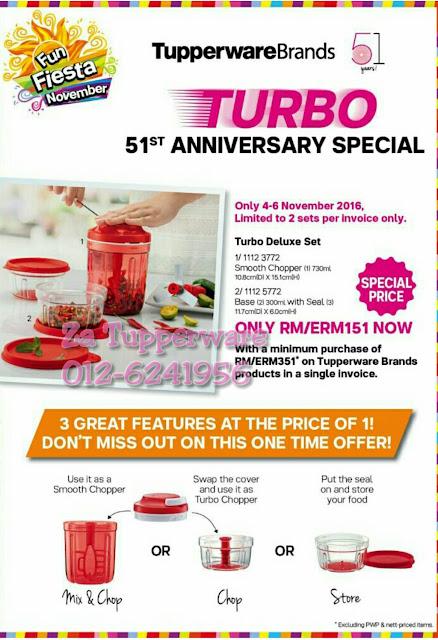 Tupperware Leaflet Fun Fiesta November 2016