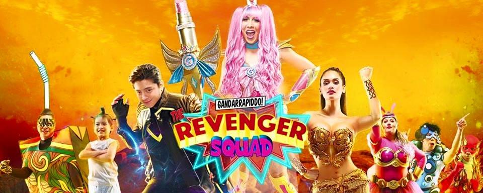The Revengers Squad stars Vice Ganda, Daniel Padilla and Pia Wurtzbach