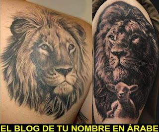 Tatuajes de simbolos de Leon