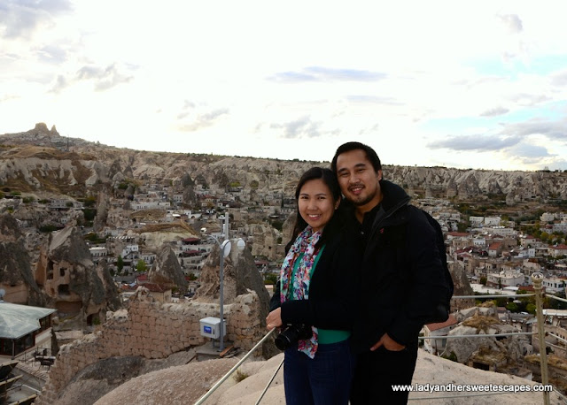 Ed and Lady in Goreme