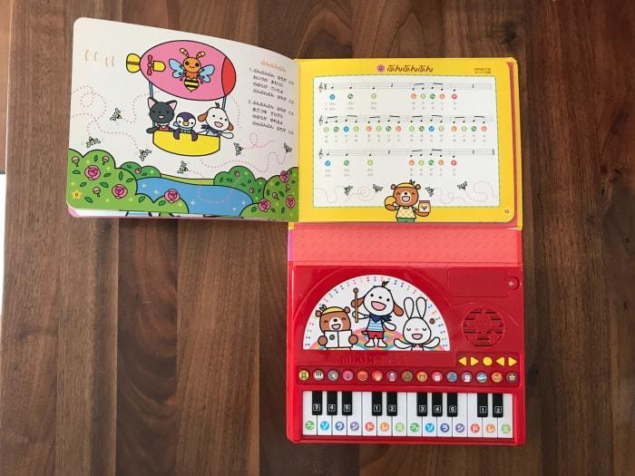 Vừa chơi vừa học đàn với bộ ehon từ 3 đến 6 tuổi piano thu nhỏ