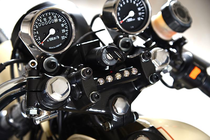 Suzuki GS550 Cafe Racer - way2speed