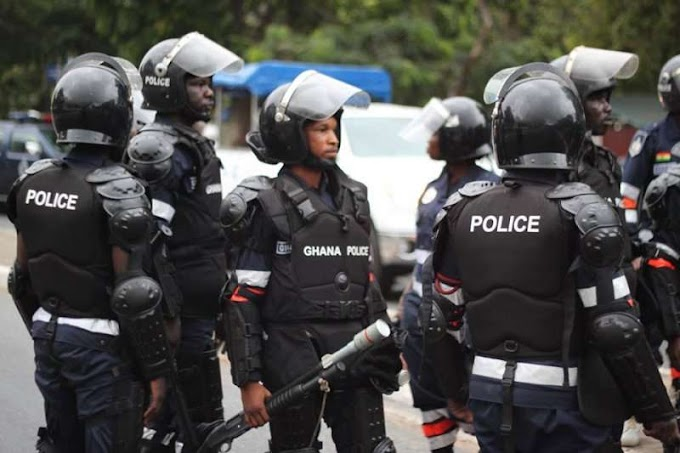 Ghana Police Ranked 8th Best In Africa
