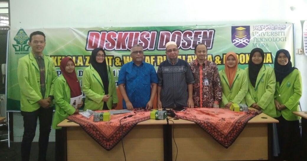 Diskusi Pengelolaan Zakat Malaysia Bersama Uitm Mara Malaka