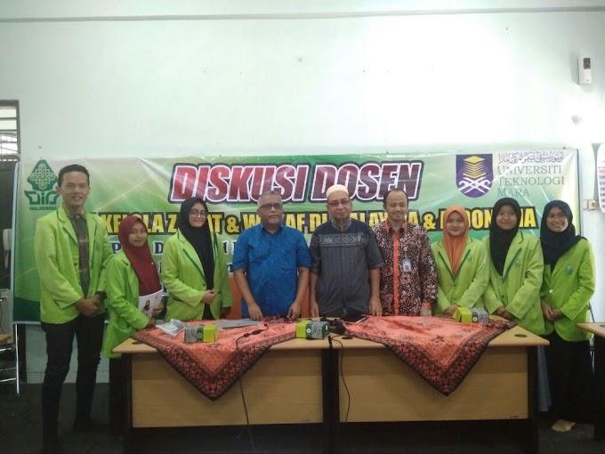 Diskusi Pengelolaan Zakat Malaysia bersama UiTM Mara, Malaka