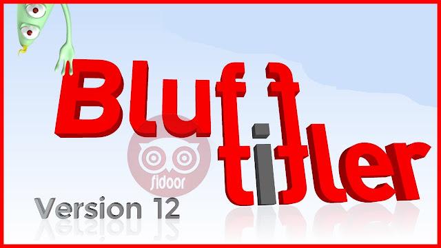 تحميل برنامج blufftitler لصناعة مقدمات فيديو رائعة