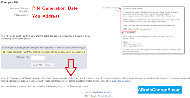 How to Verify Adsense Address without PIN or Alternate Methods Online