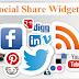 Blog Me Social Share Widgets Kaise Add Kare 2016