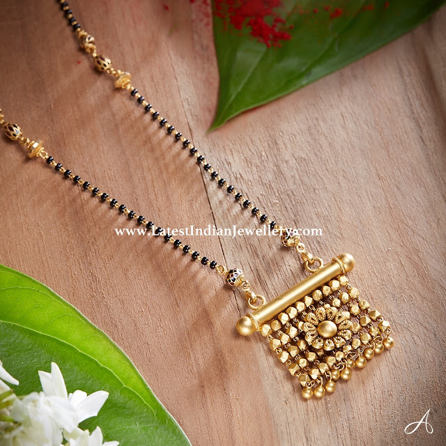 Sleek Mangalsutra Design