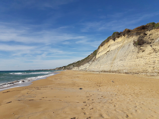 Marathias, Beach, Corfu