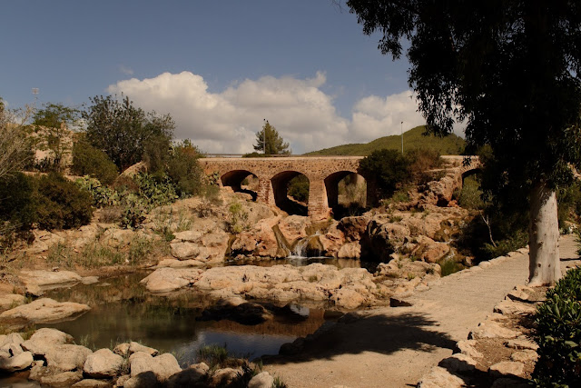 Santa Eulalia river and bridge