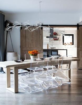 Inspirasi Desain Ruang Makan Stylish Modern