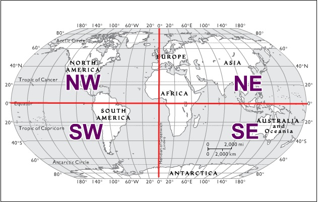 Map with hemispheres quadrant map sumer easthem map labeled gumiabroncs Images
