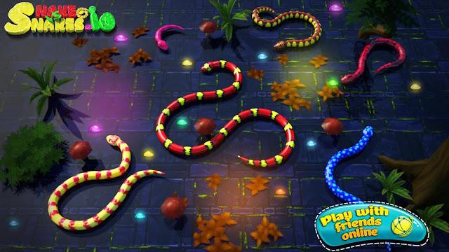 3D Snake io v3.7 Para Hileli Mod