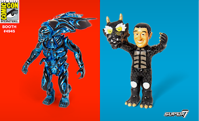 San Diego Comic-Con 2017 Exclusive Sofubi Vinyl Figures by Super7