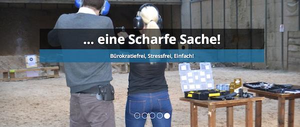 Shotevent Berlin Schießtraining für jederman