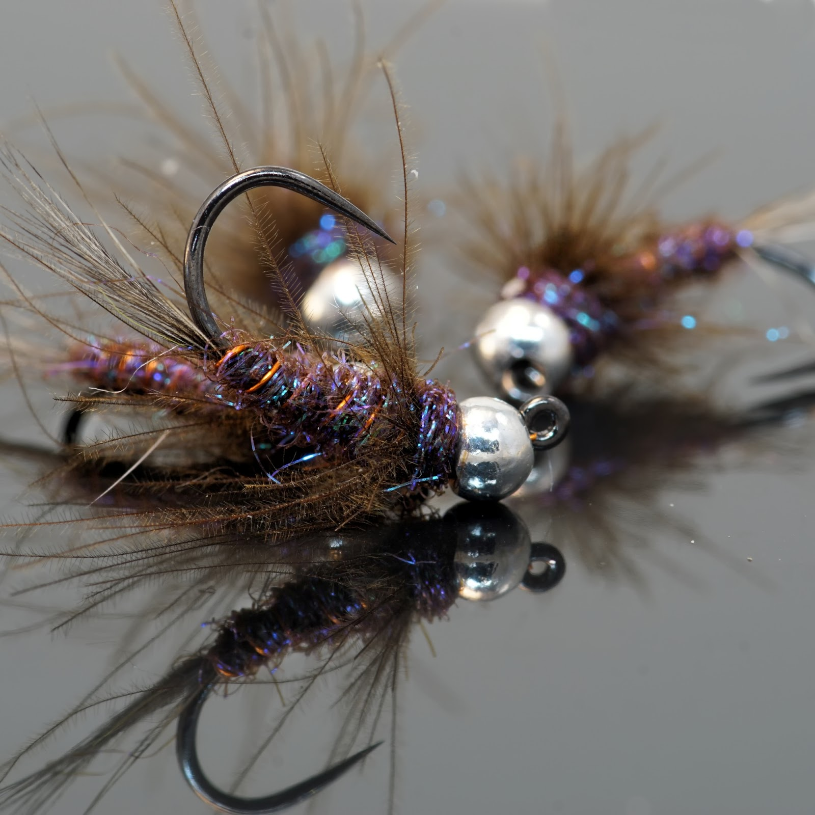 Duracell jig fly fish food fly tying and fly fishing for Fly fishing tying