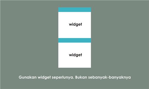 Cerdas Menggunakan Widget di Blog