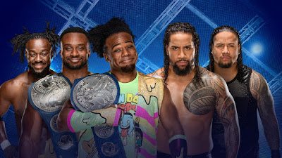 The New Day vs The Usos Hell in a Cell 2017 SmackDown Tag Team Championship