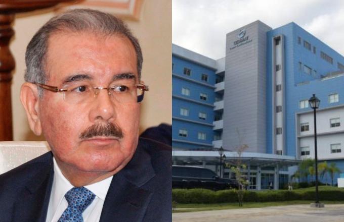 Hospitalizan al padre de Danilo Medina