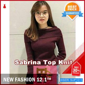 SUP1013A23 Atasan Wanita Rajut Sabrina Top Panjang BMGShop