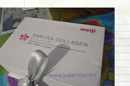 4 Hal menarik dari Sakura Collagen Anti Age's dari PT. Meiji