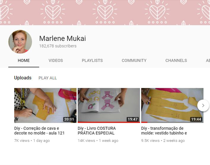 Youtube sewing channels: my faves and why - Canais de costura no ...