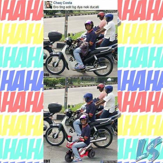 Photoshop Troll Malaysia
