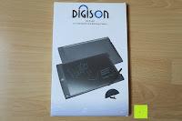 Verpackung: DIGISON DS-9500 LCD 12 Zoll Writing Tablet / Grafiktablet / Schreibtafel (Schwarz, inkl. Stift)