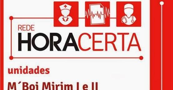 190e88d33d5 Saúde Vila Maria Guilherme  19-12- Convite - Inauguração Rede Hora Certa  M Boi Mirim I e II
