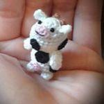 patron gratis vaca amigurumi | free pattern amigurumi cow