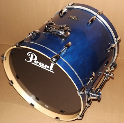 Trống Jazz Pearl Vision Birch Prussian Blue