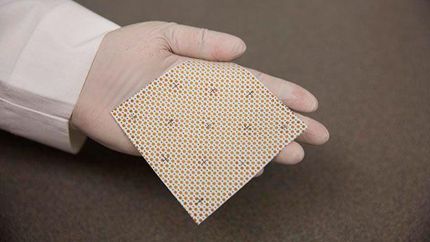 Vendajes electrónicos curan antes las heridas y previenen la infección