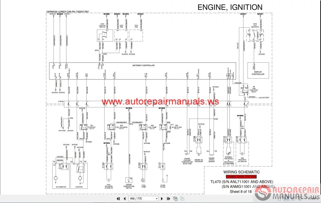 Bobcat T200 Fuse Box Location Simple Wiring Diagrams Mitsubishi Forklift Auto Electrical Diagram S250