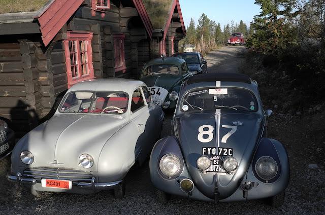 oldtimer oldspeed club Saab 92b