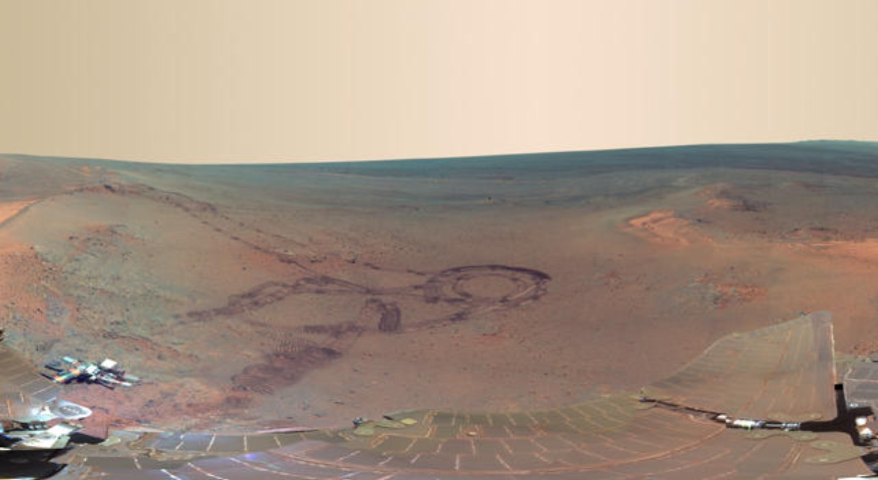 Mars panorama: next best thing to being there - The ...