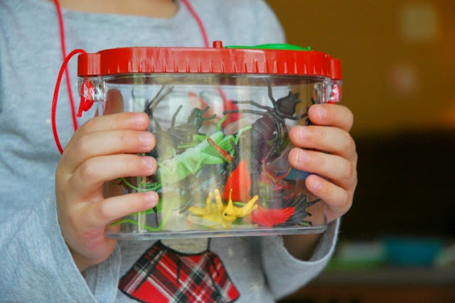 Insect Sensory Bin for Kids