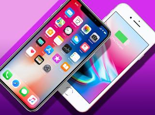 Perbedaan iPhone 8 dengan iPhone X