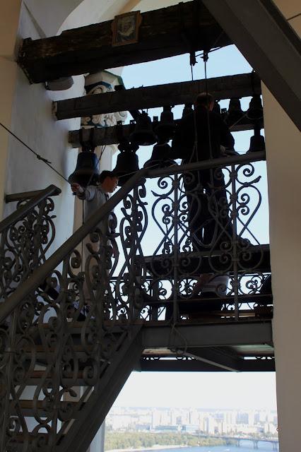 Лестница к рабочему месту звонарей