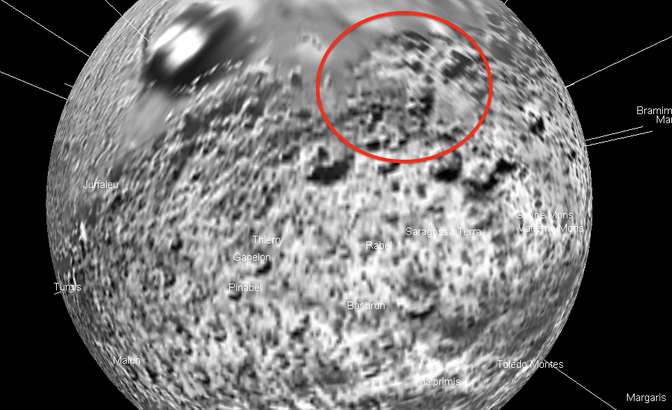 Ufo sightings daily alien structures on saturn 39 s moon - Moon close up ...