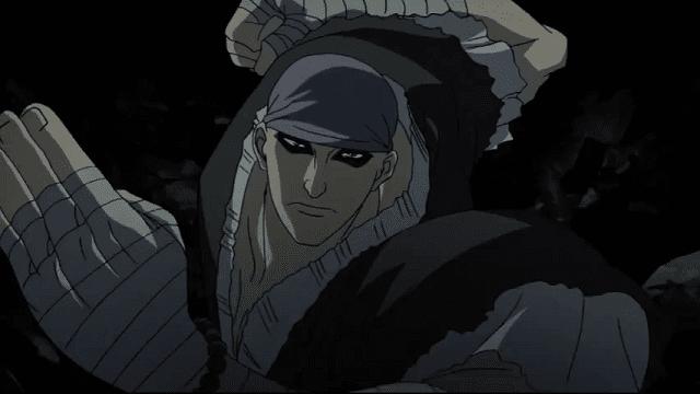 Anji mengajarkan Futae no Kiwami kepada Sanosuke