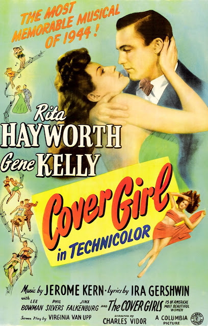 Cover Girl original 1944 film poster Cover Girl 1944 movieloversreviews.filminspector.com