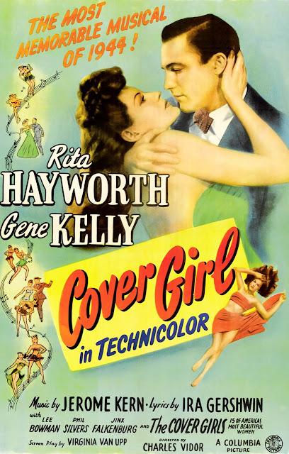 Cover Girl original 1944 film poster Cover Girl 1944 movieloversreviews.filminspector.com